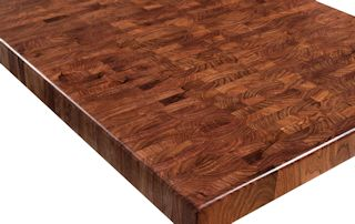 End Grain Mesquite.