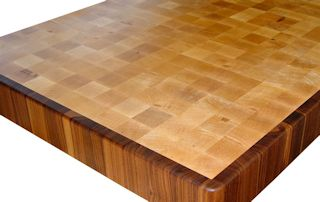 End Grain Hard Maple.