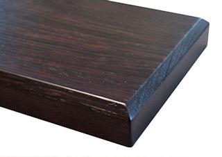 Chamfer Edge Profile for wood countertops
