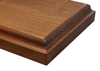 Large Bell Curve Edge Profile for wood countertops
