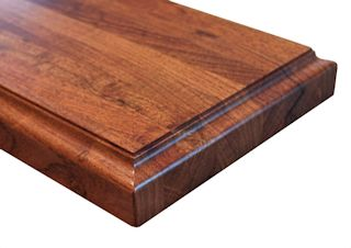Ogee Fillet Edge Profile for wood countertops