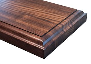 Wave with Fillet Edge Profile for wood countertops