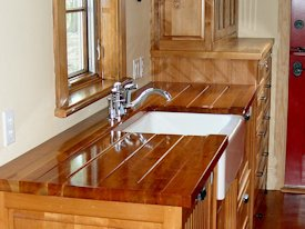 Photo Gallery of Cherry Wood countertops