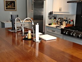 Photo Gallery of Iroko Wood countertops