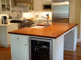 Photo Gallery of Mesquite Wood countertops