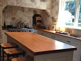 Photo Gallery of Pecan Wood countertops