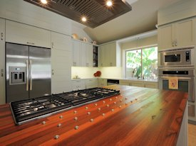 Photo Gallery of Santos Mahogany Wood countertops