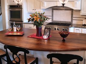 Photo Gallery of Walnut Wood countertops