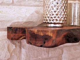 Custom Mesquite Mantle