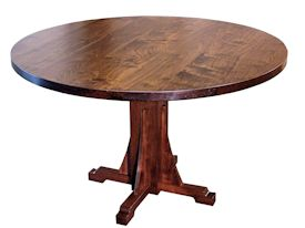 Photo Gallery of Custom Pedestal Style Tables