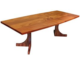 Photo Gallery of Custom Trestle Style Tables