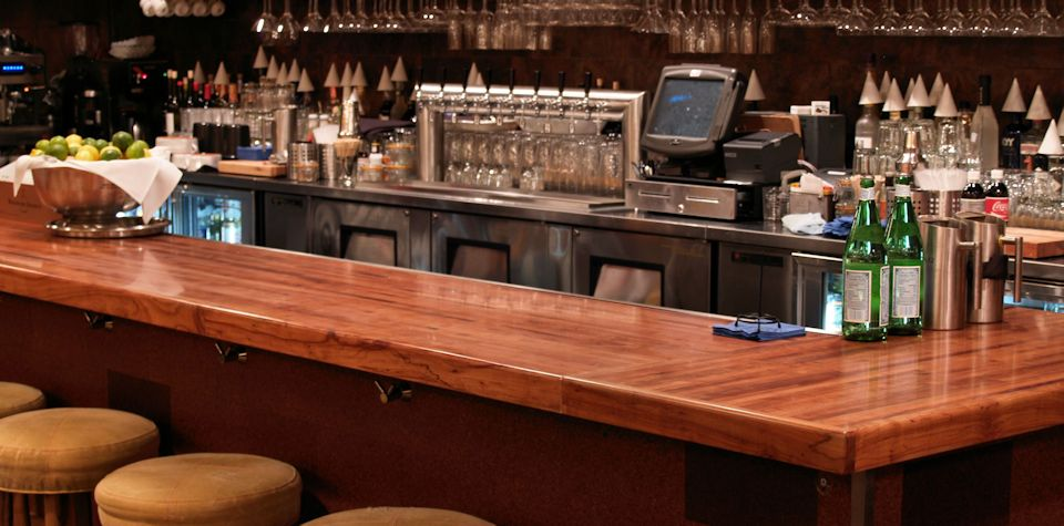 Mesquite Wood Bar Top