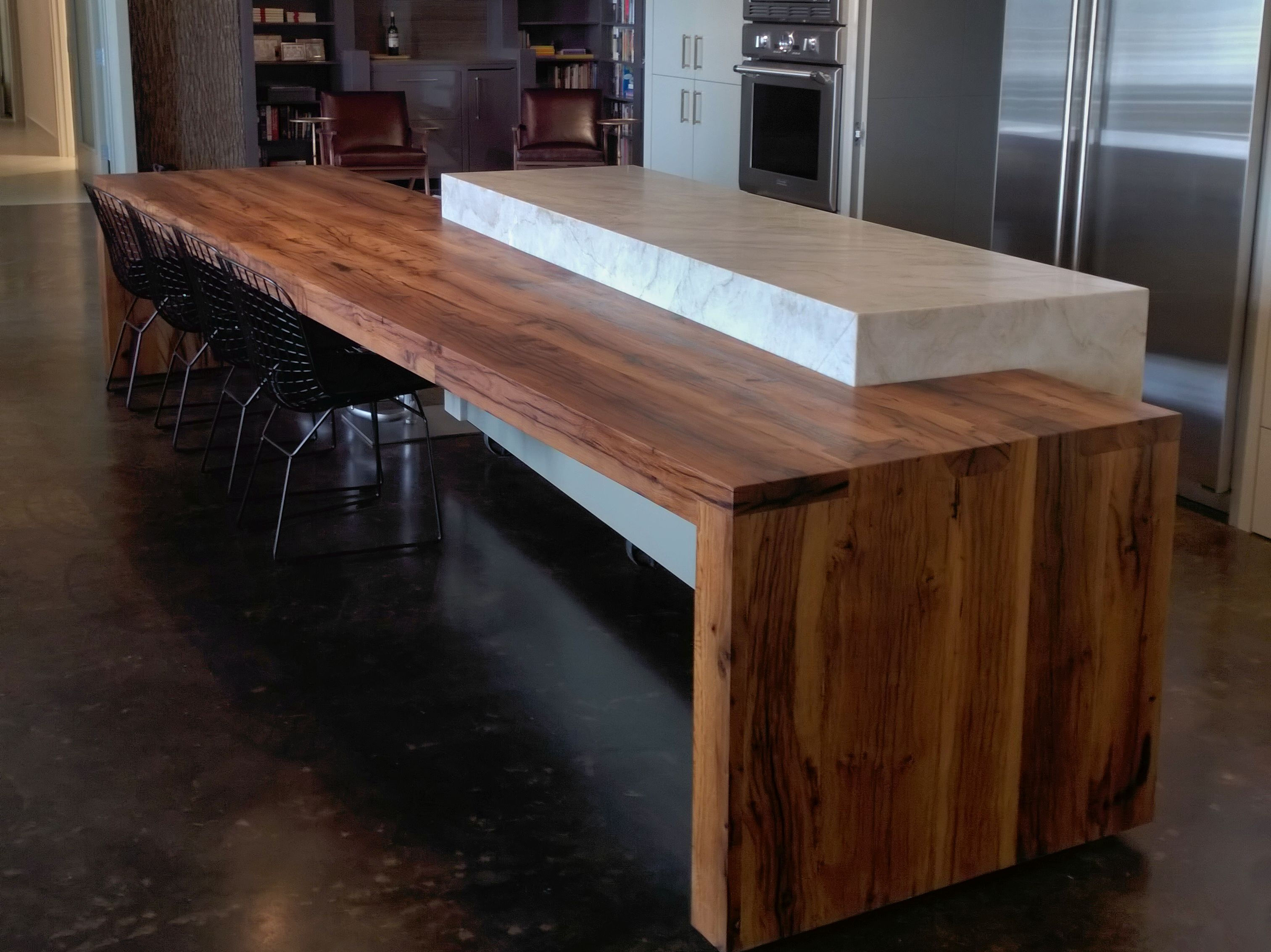 Reclaimed White Oak Wood Countertop Photo Gallery By
