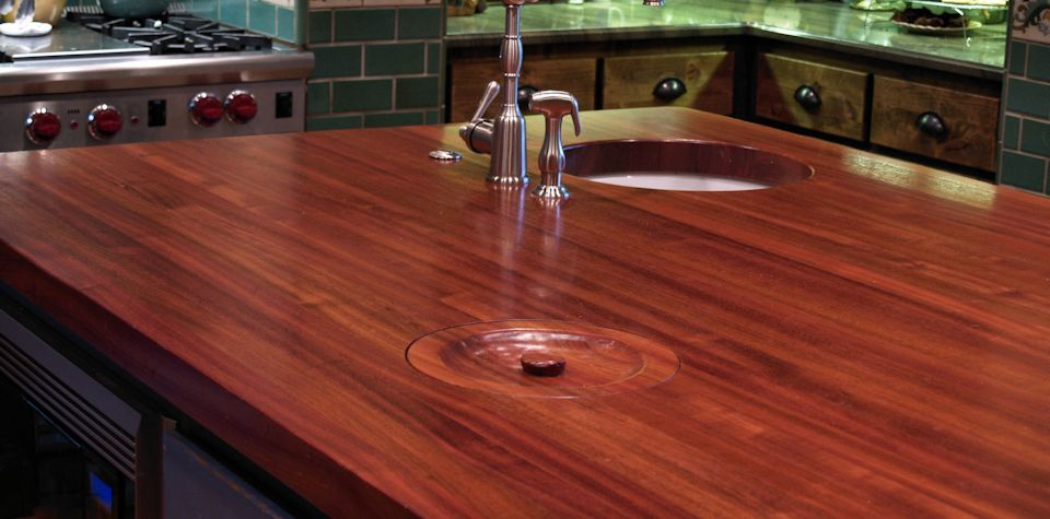 Best Finish For Butcher Block Countertop: Custom Wood Countertops, Kitchen Island Tops, Butcher